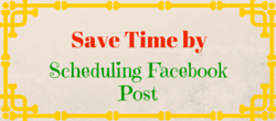 Schedule Posts on Facebook and Save Time