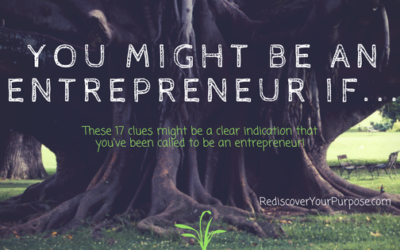 You Might be an Entrepreneur if…