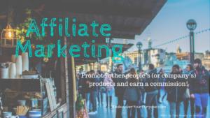 Affiliate Marketing Online