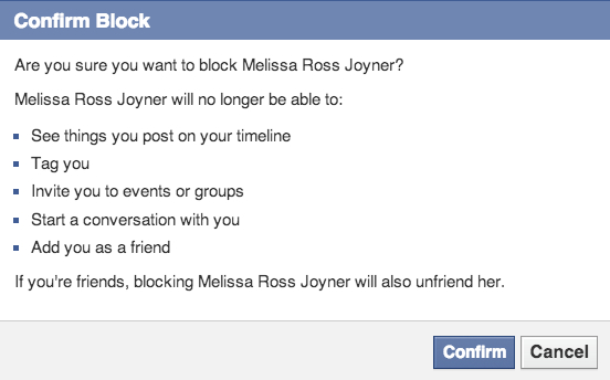 How to Block and Unblock Someone on Facebook - Livinlyfe