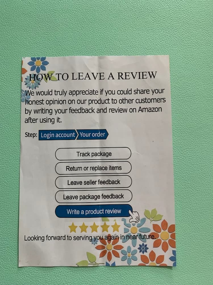 How To Leave a Review